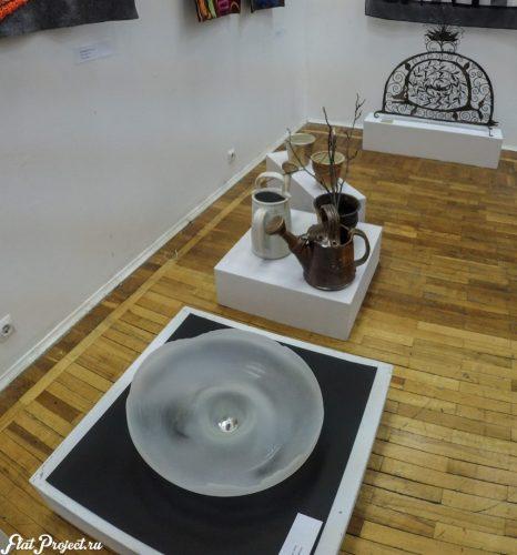 Керамика и стекло на Осенней выставке 2016 — фото 3