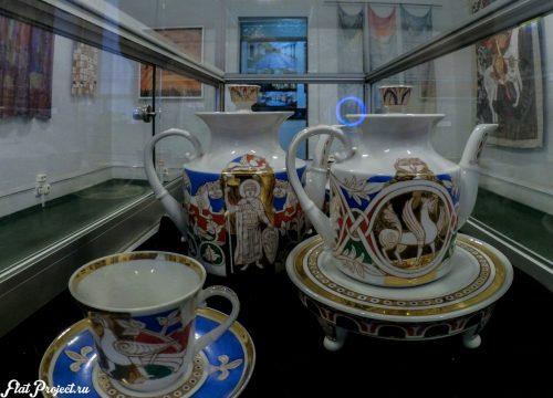 Керамика и стекло на Осенней выставке 2016 — фото 36