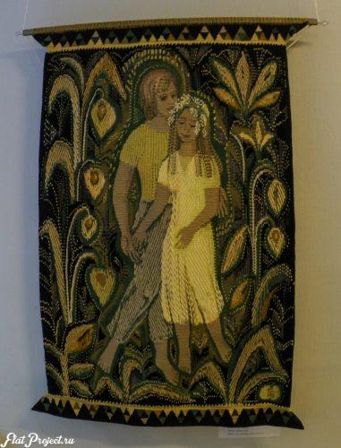 Ткани и гобелены на Осенней выставке 2016 — фото 8
