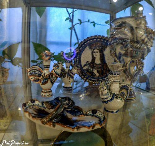 Керамика и стекло на Осенней выставке 2016 — фото 31