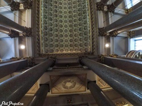 Потолки и декор Казанского собора — фото 36