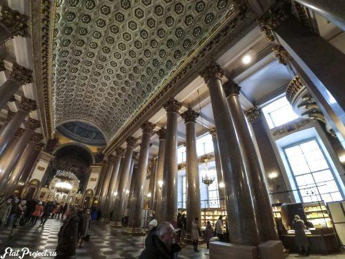 Потолки и декор Казанского собора — фото 25