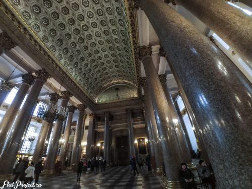 Потолки и декор Казанского собора — фото 5