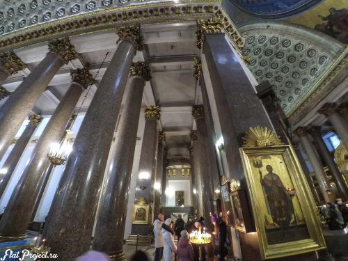 Потолки и декор Казанского собора — фото 19