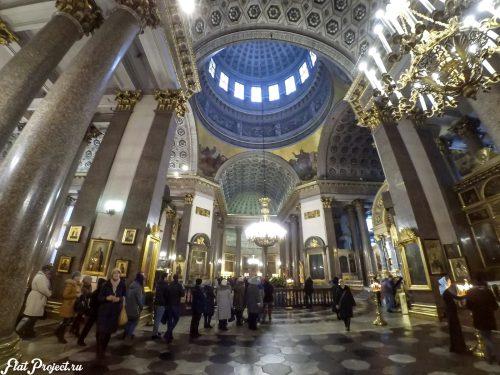 Потолки и декор Казанского собора — фото 3