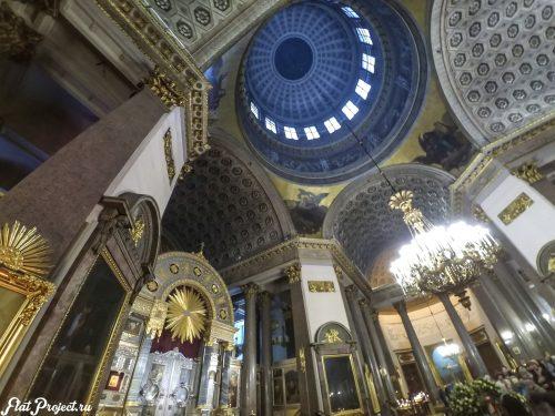 Потолки и декор Казанского собора — фото 9