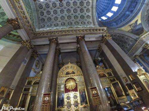 Потолки и декор Казанского собора — фото 6