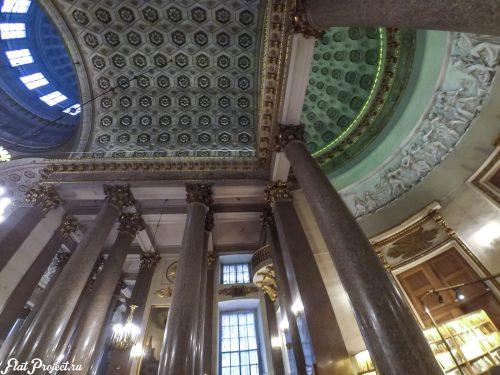 Потолки и декор Казанского собора — фото 52