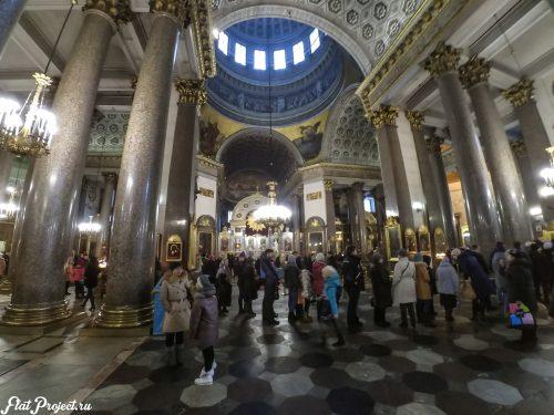 Потолки и декор Казанского собора — фото 26