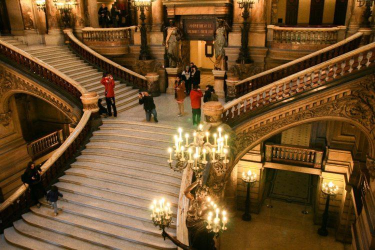 Парижская Опера Гарнье