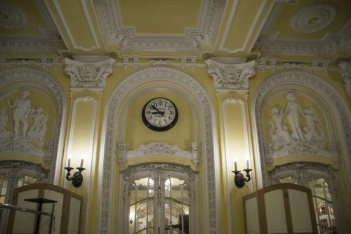 Лепной декор в Музыкальной академии Ференца Листа