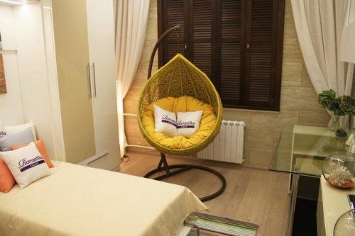 Плетеное подвесное кресло Fresco