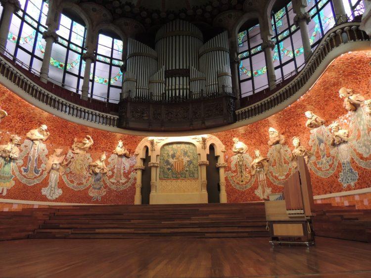 Дворец каталонской музыки - декор