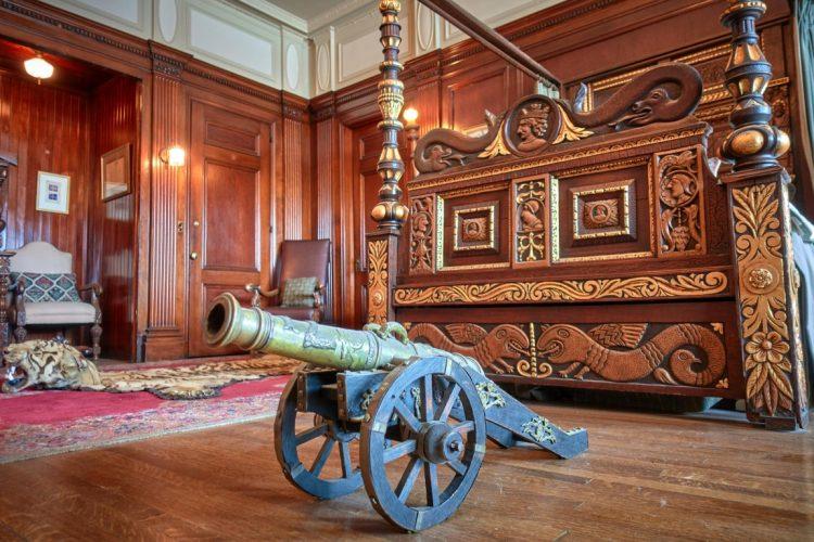 Замок Каса Лома - интерьеры