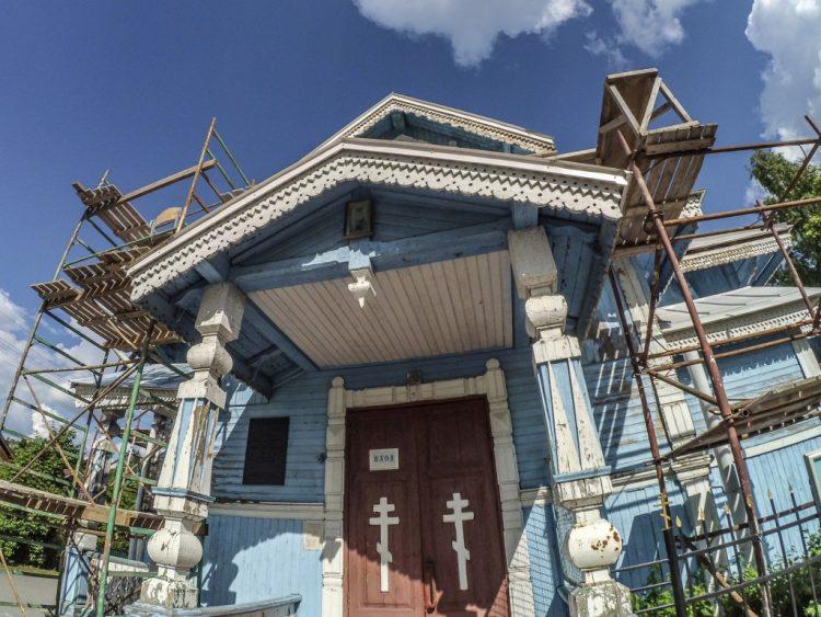 Резной декор - Церковь Александра Невского в Красном Селе
