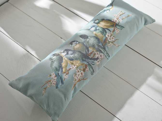 Декоративная подушка гобелен Bird