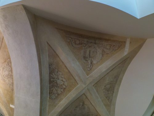 Роспись потолка на лестнице Главного Штаба — фото 4