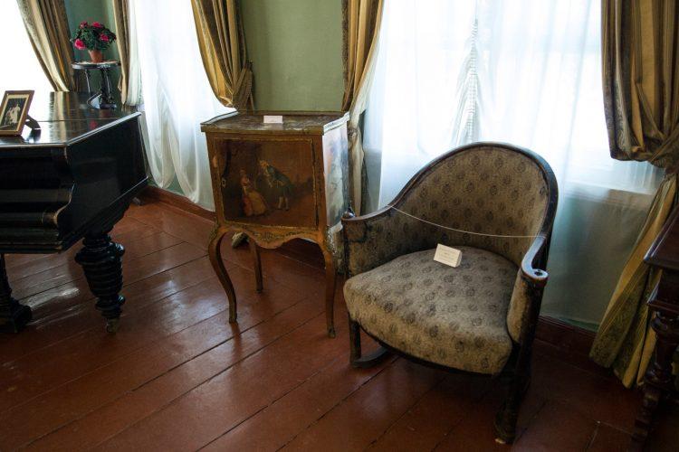 Дом Набокова в Рождествено - интерьер