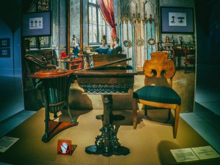 YDXJ8916-Мебель XIX века -  эпоха историзма