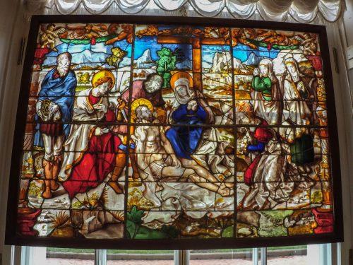 Витраж эпохи средневековья — фото 2