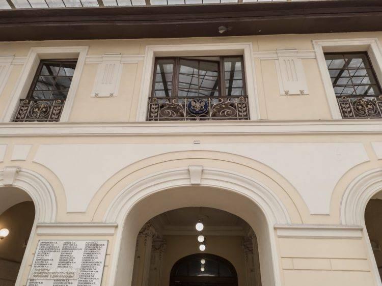 Главпочтамт в Санкт-Петербурге - интерьер