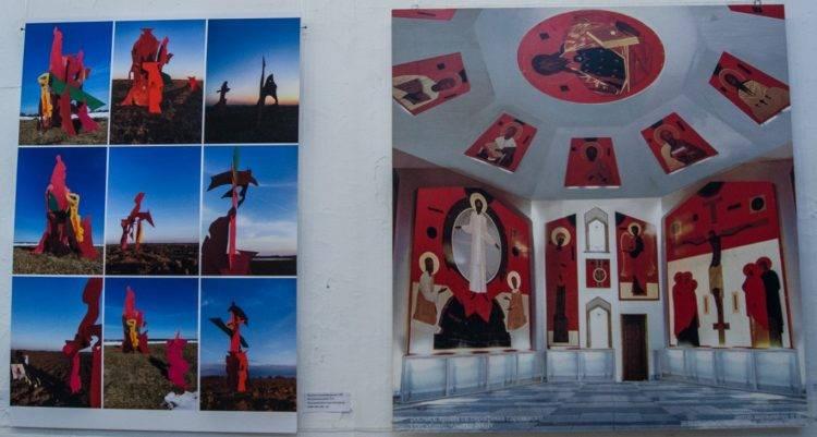 Дизайн и декор на выставке Весна 2019 в Союзе Художников Санкт-Петербурга