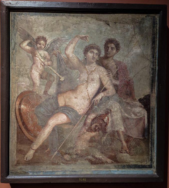 Фрески и мозаика из Помпей и Геркуланума
