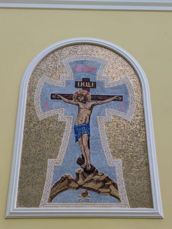 Мозаика - Храм Спаса Нерукотворного образа на Дороге жизни