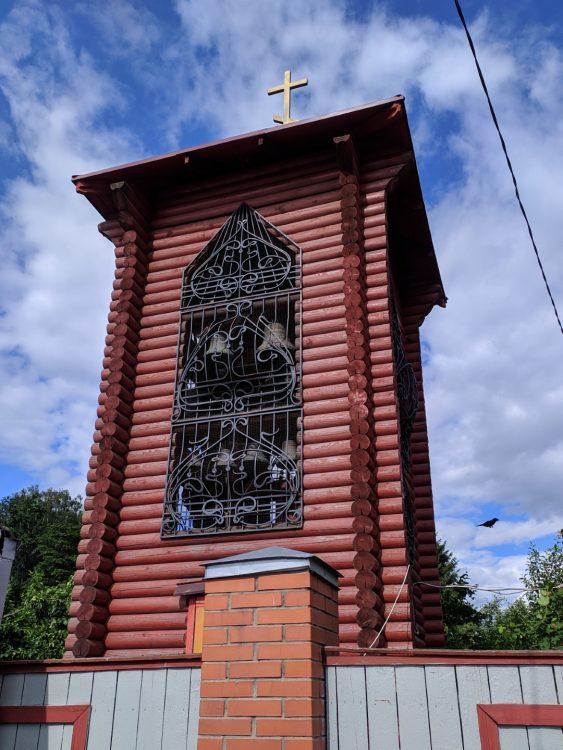 Звонница - Храм Спаса Нерукотворного образа на Дороге жизни