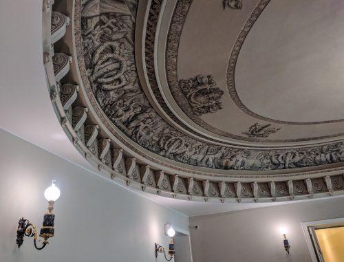 Роспись на потолок лестницы Главного штаба — фото 1