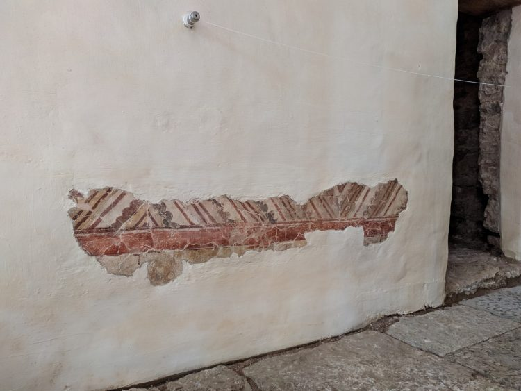 Фрески церкви Святого Георгия в Старой Ладоге