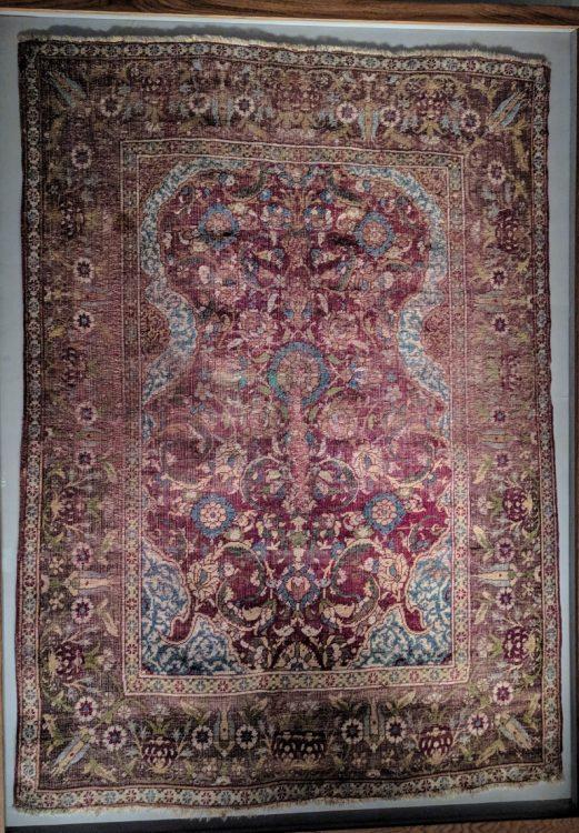 Турецкий ковры лотто