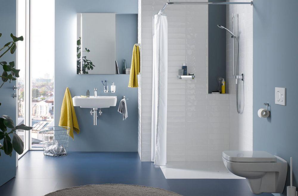Красивые аксессуары для ванной из нержавеющей стали