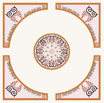 Фрески (роспись стен и потолка) — Модерн