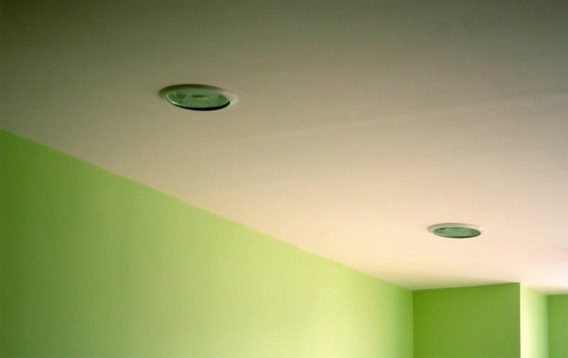 Простой подшивной потолок