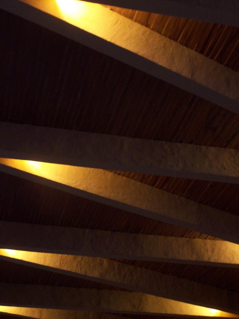 Потолок из гипрока с использованием штукатурки