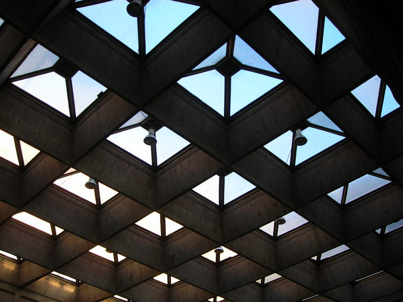 Стеклянная крыша — фото 28