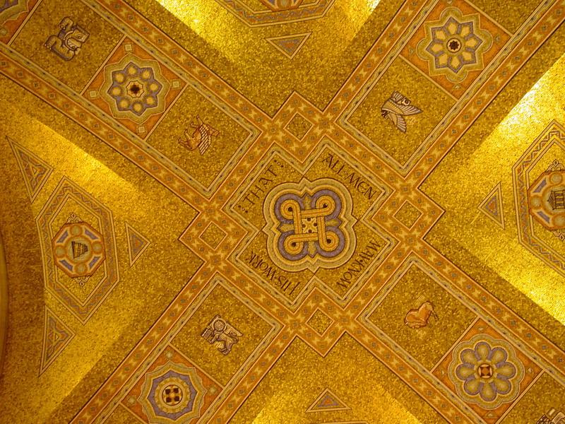 Потолок одного из залов Королевского музея Онтарио (фото 4)