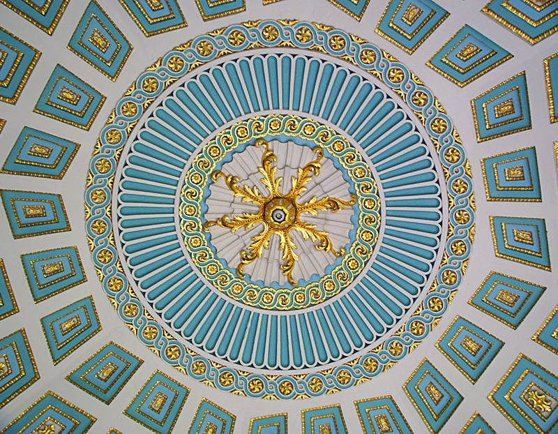 Роспись потолка — фото 156