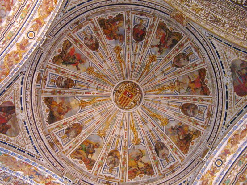 Роспись потолка — фото 157
