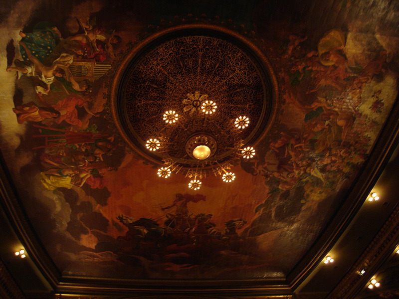 Роспись потолка — фото 298