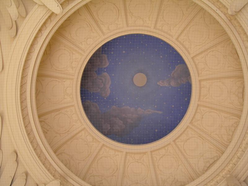 Роспись потолка — фото 299