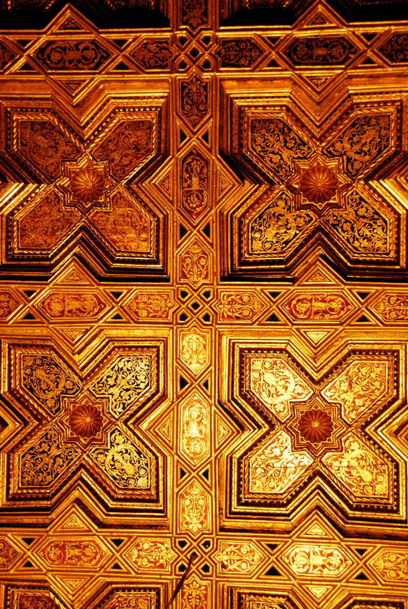Фрагмент потолка Кафедрального собора Святой Марии в Толедо