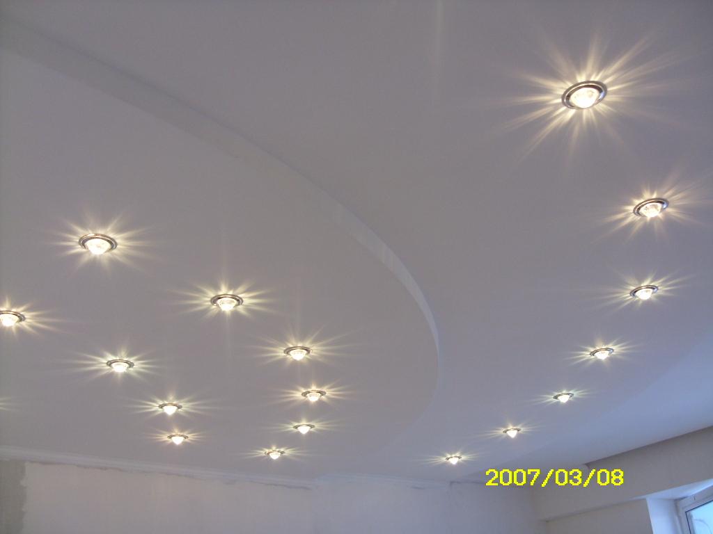 Потолок из гипрока, автор проекта Светлана Боркова — фото 3