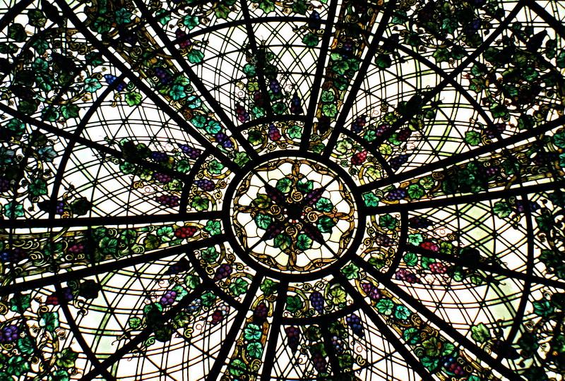 Витражный потолок — фото 6